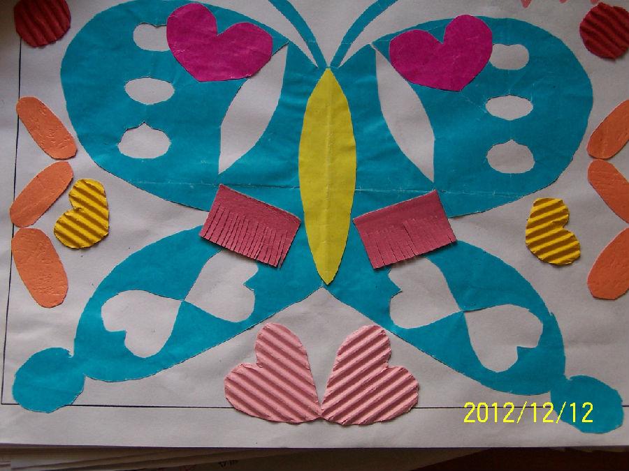 对称团花步骤画法